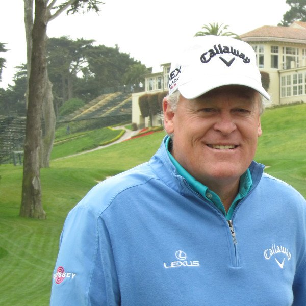 World Golf Hall of Fame inductee Johnny Miller at the Country Club of Jackson